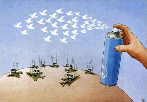 Resultado de imagen para imagenes de paz y guerra