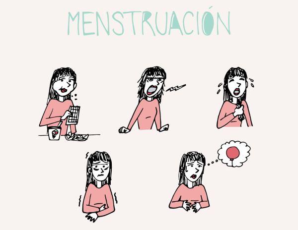 Resultado de imagen para malestar periodo menstrual, regular la menstruación