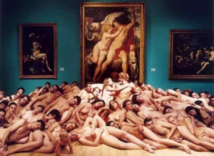 Fotografía de Spencer Tunick